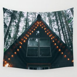 Cabin #woods Wall Tapestry