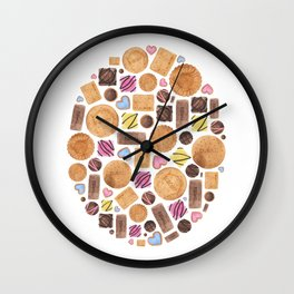Sweets and Candy. Wall Clock
