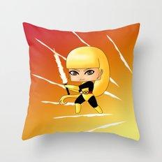 Chibi Magik Throw Pillow