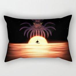 Kraken the Sky Rectangular Pillow
