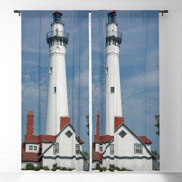 Wind Point Lighthouse Blackout Curtain