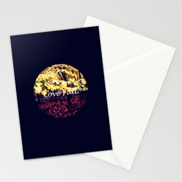 Under The Shade Of Yellow Stationery Cards