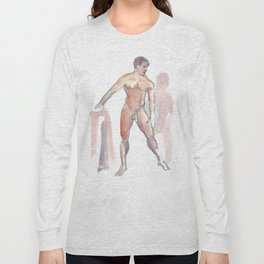 RENATO JR, Nude Male by Frank-Joseph Long Sleeve T-shirt