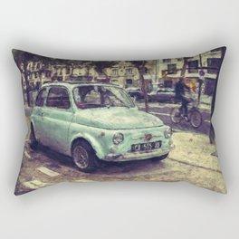 Fiat 500 Abarth Rectangular Pillow