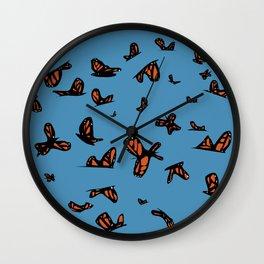 Monarchs  Wall Clock
