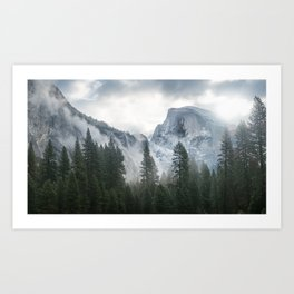 Majestic Mountain Art Print