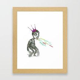 Benjamin, le prince de pyjama Framed Art Print