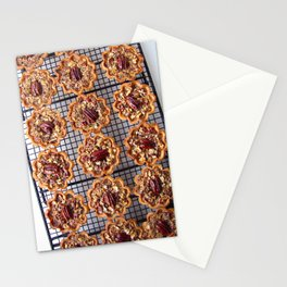 Pecan Tartelettes Stationery Cards