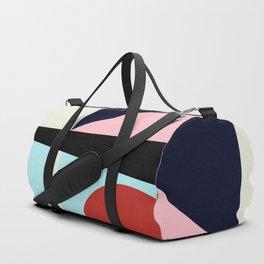 Circle Series - Red Circle No. 5 Duffle Bag