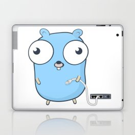 Golang - gopher wizard Laptop & iPad Skin