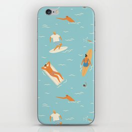 Blue Hawaii iPhone Skin