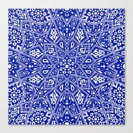 Amirah Blue Canvas Print