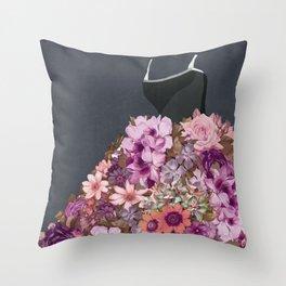 Flower Fashion Throw Pillow
