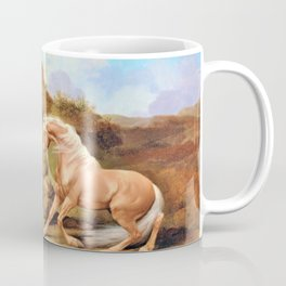 Horse Frightened By A Lion - George Stubbs Coffee Mug