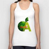 apple Tank Tops featuring apple by John Beswick
