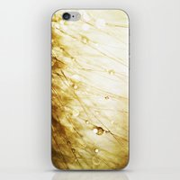 champagne iPhone & iPod Skins featuring Champagne by Rosemary Danielis