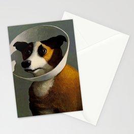 orejeras de perro Stationery Cards