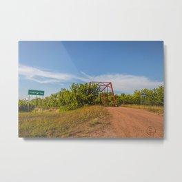 Stephens Bridge, North Dakota, 1 Metal Print