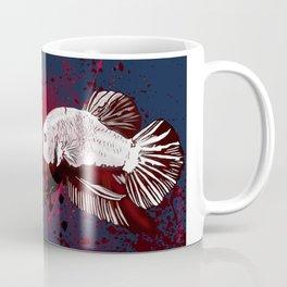 Pirate Betta Fish Coffee Mug