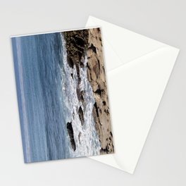 La Jolla California Waves and Rocks Stationery Cards