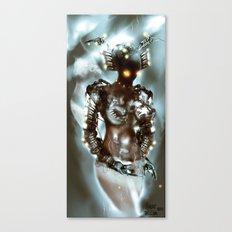 Lone Zilon [Digital Figure Illustration] Canvas Print