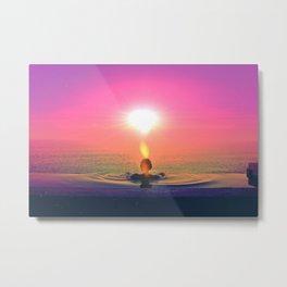 Sunshower Metal Print