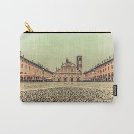 The stunning Piazza Ducale in Vigevano in autumn while raining Carry-All Pouch