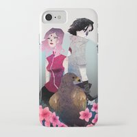 gore iPhone & iPod Cases featuring Glory and Gore go hand and hand by Serena Rocca