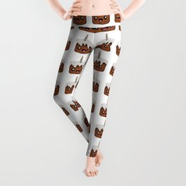 Birthday Cake (Chocolate) Leggings