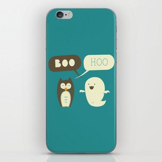 Boo Hoo iPhone & iPod Skin