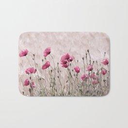 Poppy Pastell Pink Bath Mat