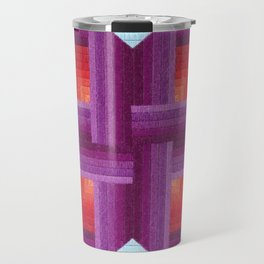 Incastro Cubi (blue) Travel Mug