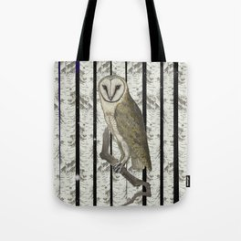 An owl look out Tote Bag