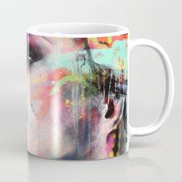 Urban-Girl Original Painting Coffee Mug
