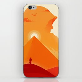 The Falcon of Siwa iPhone Skin