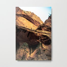 Double Arch Alcove Metal Print