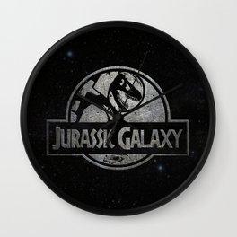 Jurassic Galaxy - Metal Wall Clock