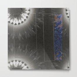 Wormling Concord Flowers  ID:16165-022225-08511 Metal Print