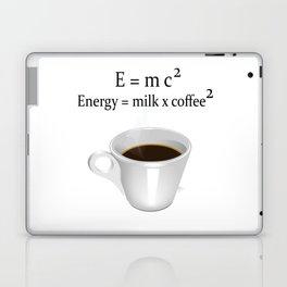 Coffee E=mc2 Laptop & iPad Skin