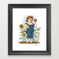 Terri's Commission Framed Art Print