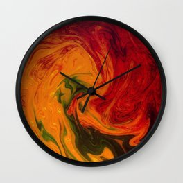 Marble Texture Wall Clock