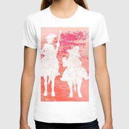 quixote and his friend T-shirt