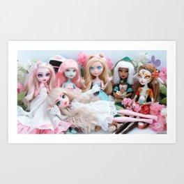 Group Photo Art Print