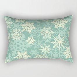 Snowflakes #1 Rectangular Pillow
