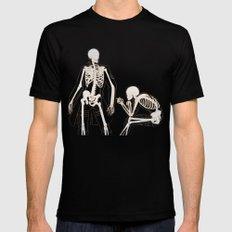 Eruri: Twin Skeletons Mens Fitted Tee LARGE Black