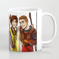 quidditch Mugs featuring Quidditch by Plebnut