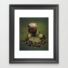 Flesh Eating Sensei?! Framed Art Print