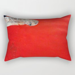 RED GIRL Rectangular Pillow