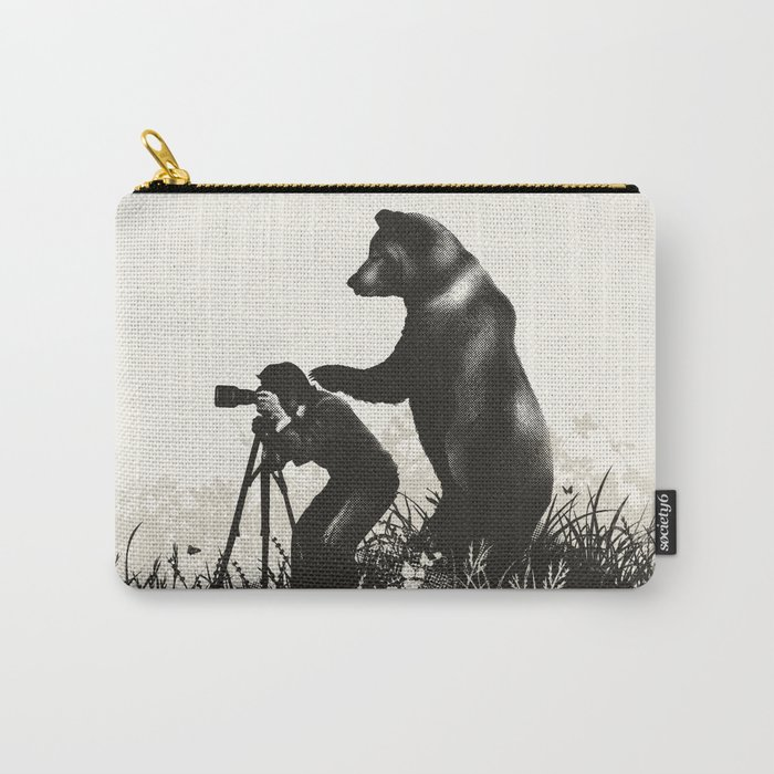 The Bear Encounter II Carry-All Pouch