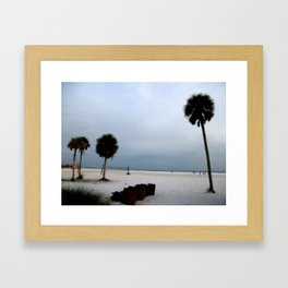 Stunning Siesta Keys Beach Framed Art Print